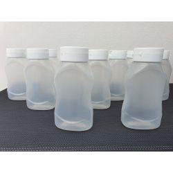 SQUEEZER 550 ml avec BOUCHON anti-goutte PAR 6